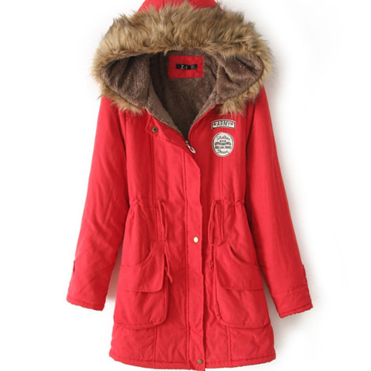 f23f9e65e90 Shop Small to Plus Size Womens Winter Faux Collar Coat - On Sale - Free  Shipping On Orders Over  45 - Overstock - 23027023