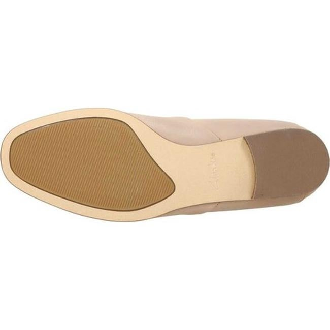 ac51c292989 Shop Clarks Women s Pure Tone Slip-On Nude Leather - Free Shipping Today -  Overstock - 23552319