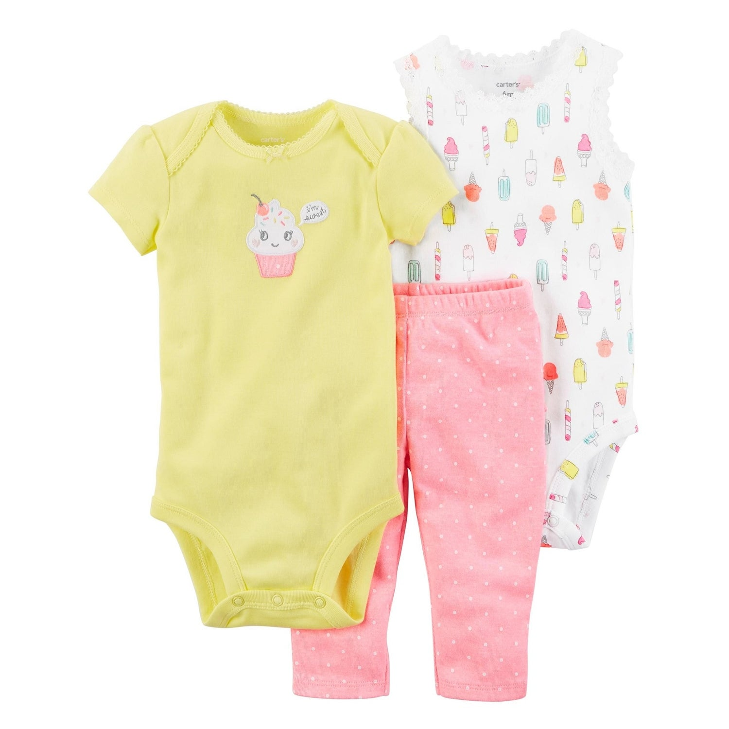 1ff00f657db Shop Carter s Baby Girls  3-Piece Little Character Set - Free Shipping On  Orders Over  45 - Overstock - 25586452