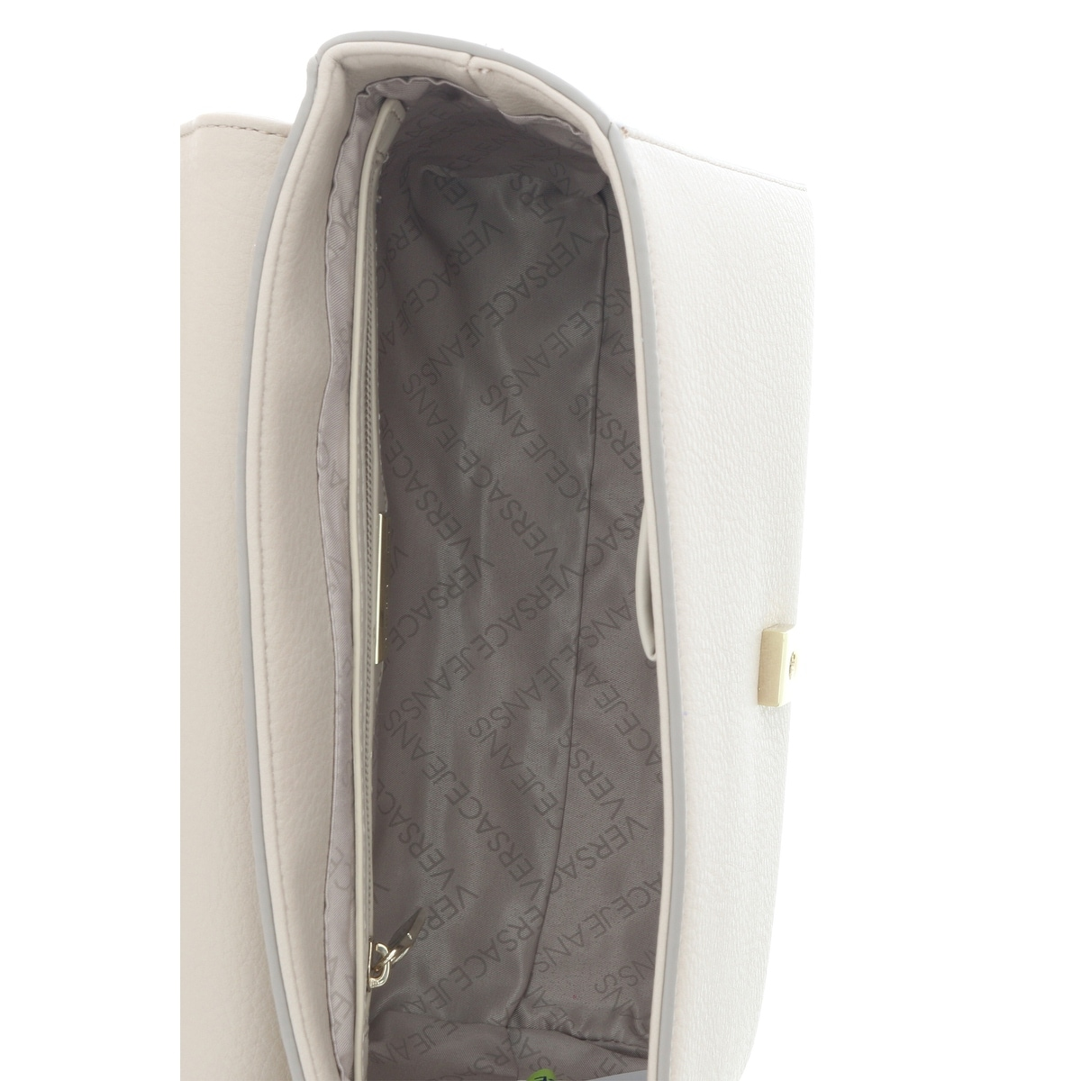 fc8521dd21 Shop Versace EE1VRBBC6 Beige Top Handle Bag - 9-7.5-4.5 - Free Shipping  Today - Overstock.com - 20223867