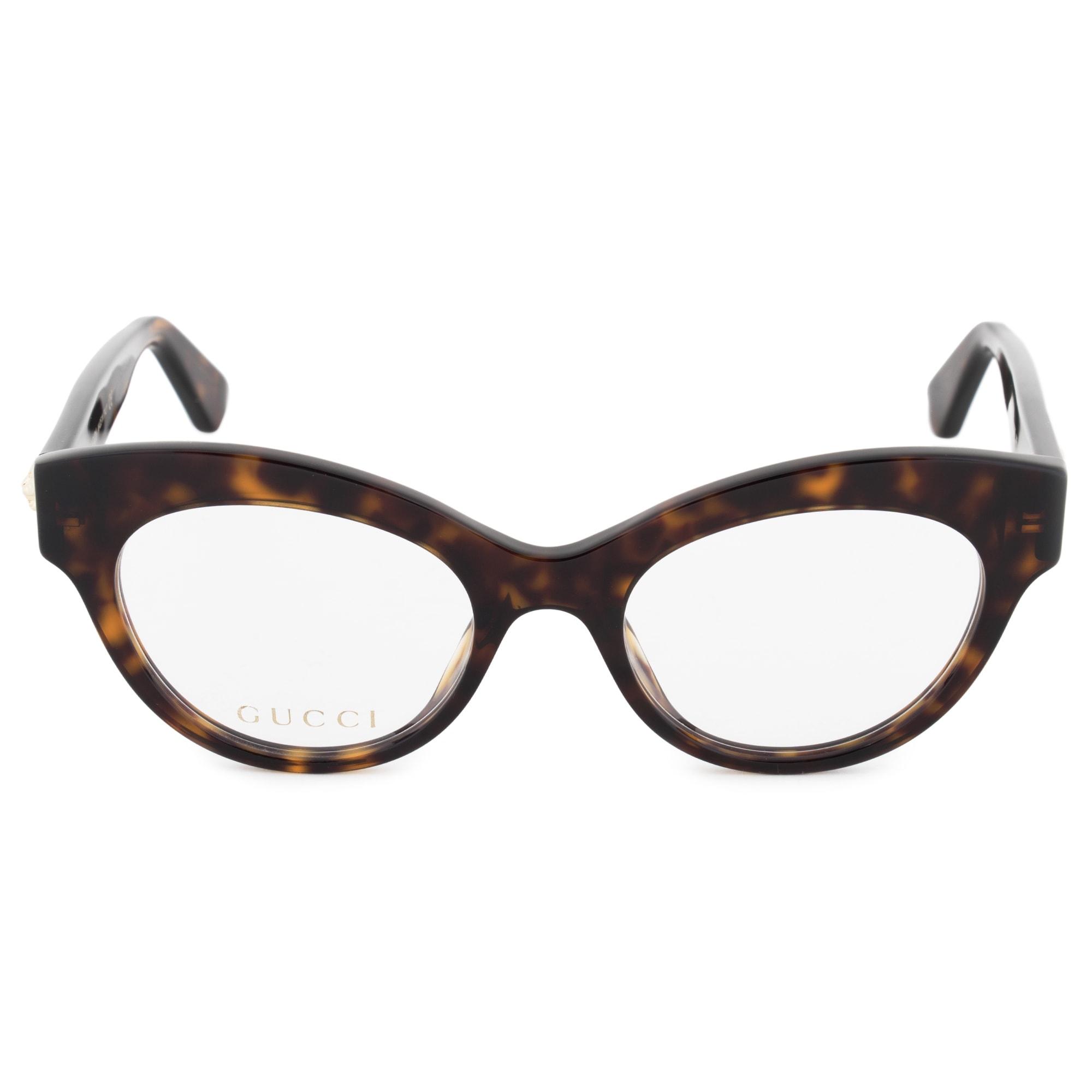 d7c73348628 Shop Gucci Gucci Cat Eye Eyeglass Frames GG0030O 002 49 - Free ...