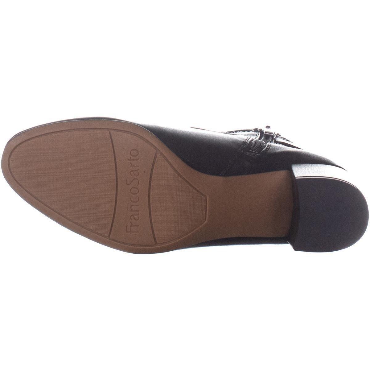 337f3fed75c Shop Franco Sarto Newton Zip Up Block Heel Boots