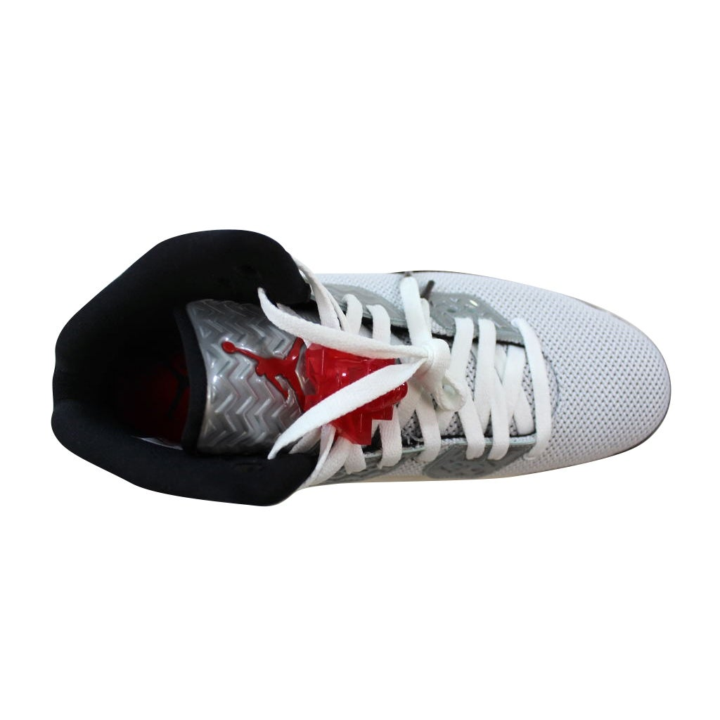 b1a382ac Shop Nike Men's Air Jordan Spike Forty PE White/Fire Red-Black807541-101 -  Free Shipping Today - Overstock - 21141827