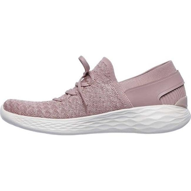 fe5e56fd6927 Shop Skechers Women s YOU Beginning Sneaker Mauve - On Sale - Free Shipping  Today - Overstock - 20187548