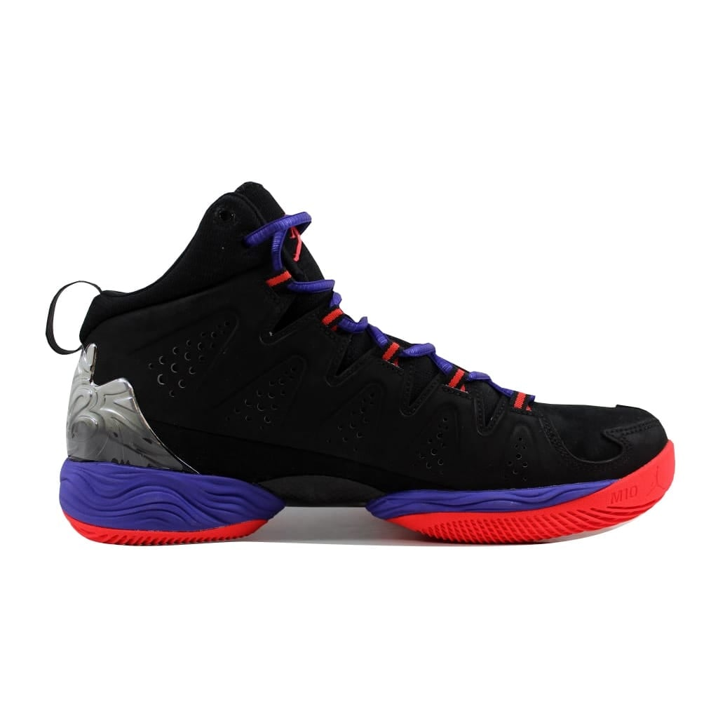 956834e6aee119 Shop Nike Men s Air Jordan Melo M10 Black Infrared 23-Dark Concord  629876-053 - Free Shipping Today - Overstock - 21893331