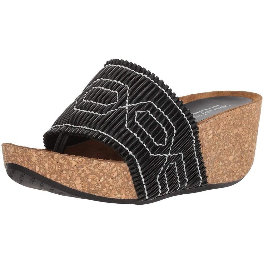 a2b5c4ed200 Shop Donald J Pliner Womens Gess Leather Open Toe Casual Slide ...