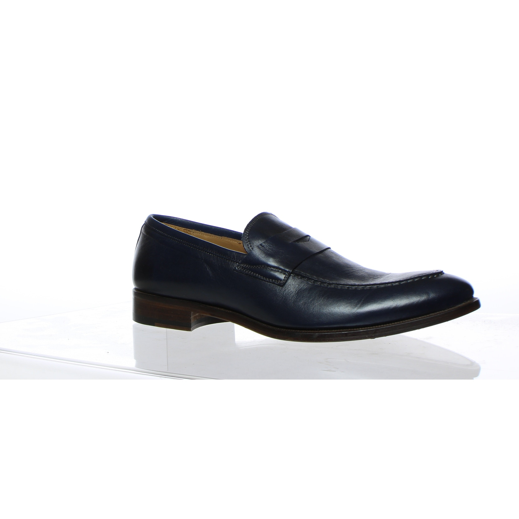 cabc5255d38 Shop Gordon Rush Mens Brock Navy Leather Loafers Size 10 - Free ...