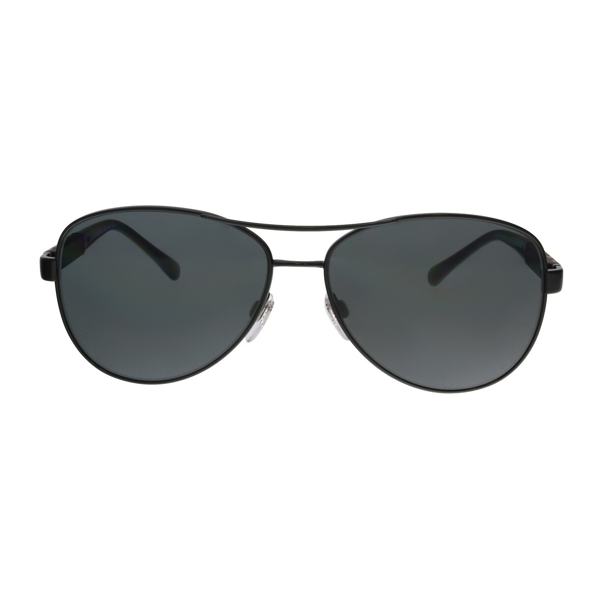 67a5f7cb147 Shop Burberry BE3080 100187 Black Aviator Sunglasses - 59-14-135 - Free  Shipping Today - Overstock - 25558363