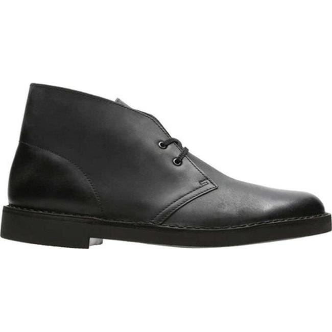 2dc3dc3fdcb5 Shop Clarks Men s Bushacre 2 Boot Black Waxy Leather - Free Shipping Today  - Overstock - 17186008
