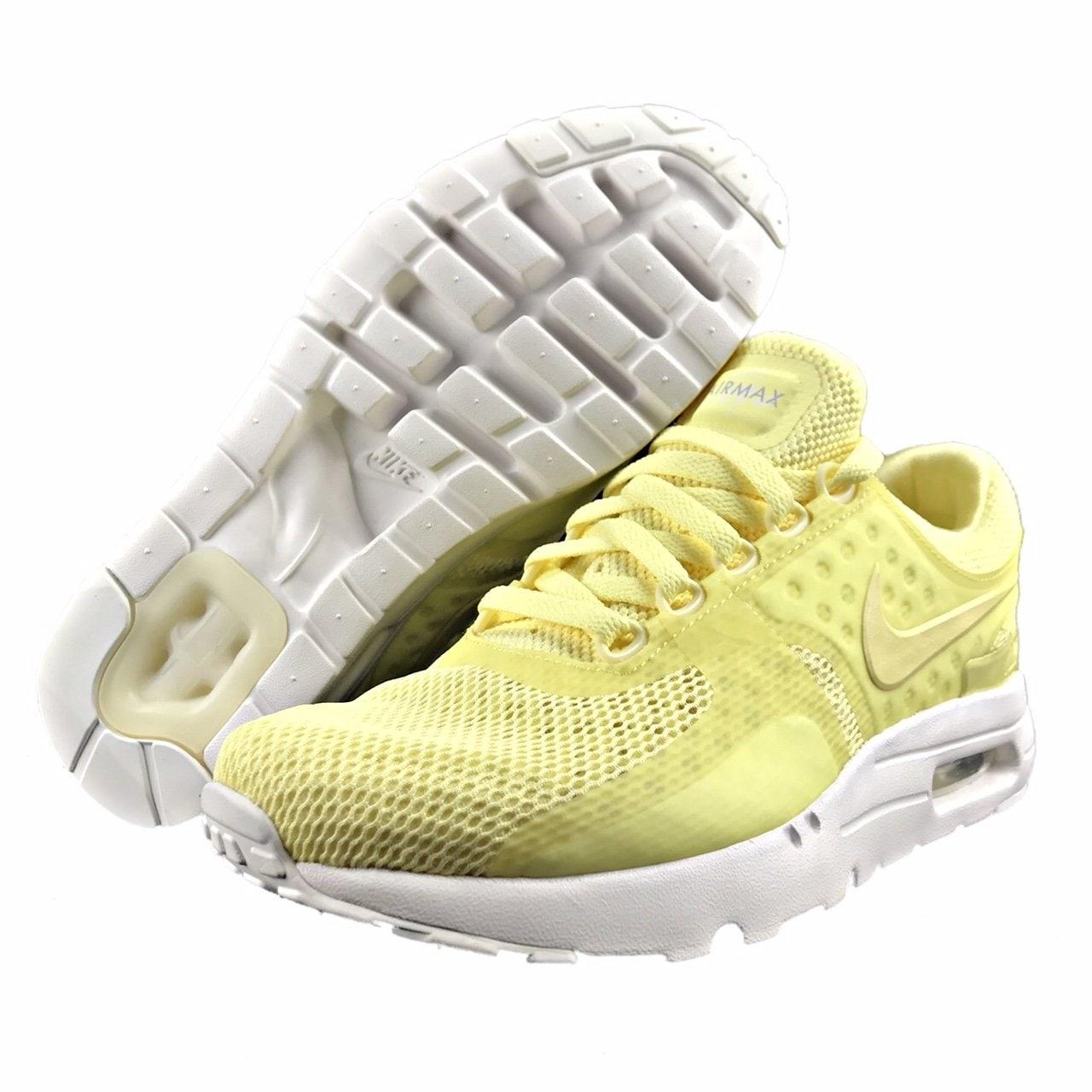 on sale ffa1d 3c874 Men's Nike Air Max Zero BR Shoe, Lemon Chiffon/Lemon Chiffon, 8 B(M) US