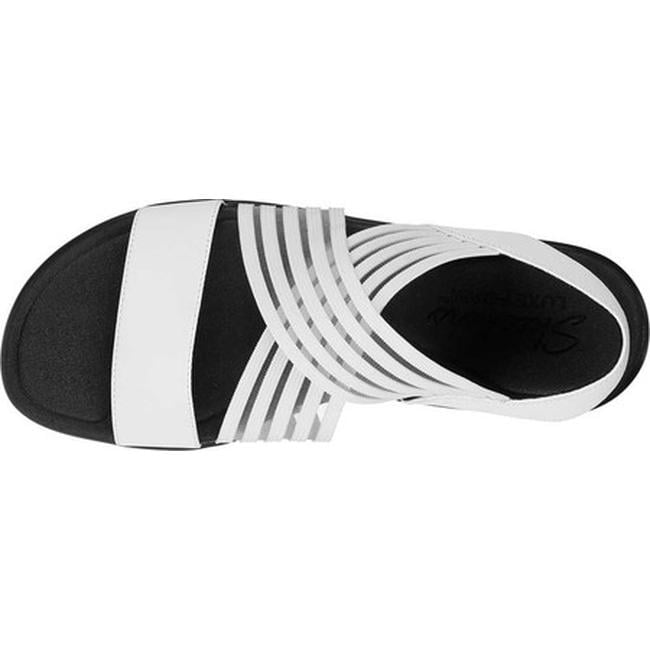 6abeb11a70b Shop Skechers Women s Bumblers Stop N Stare Slingback Sandal White - Free  Shipping On Orders Over  45 - Overstock.com - 26972425