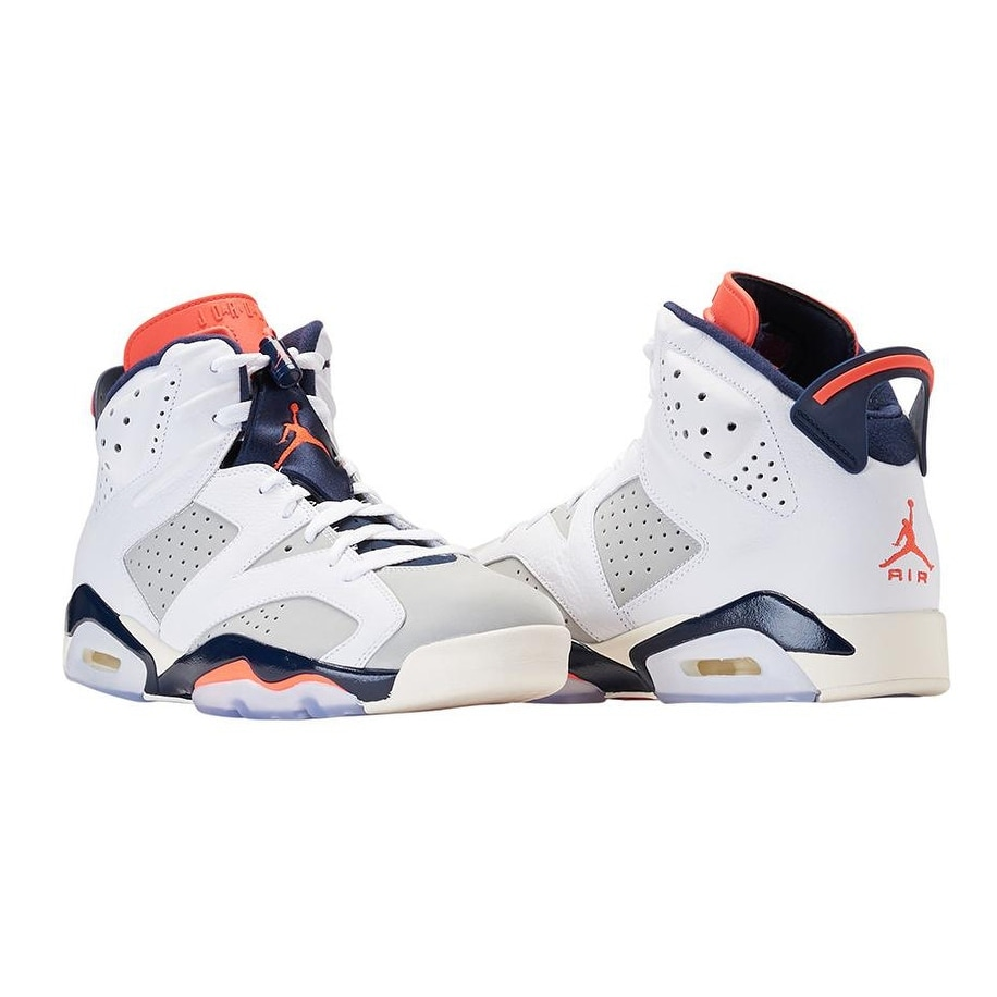 best service 6ac23 8ca8e Shop Nike Men s Air Jordan 6 Retro (38446 104) White Neutral Grey - Free  Shipping Today - Overstock - 25490246