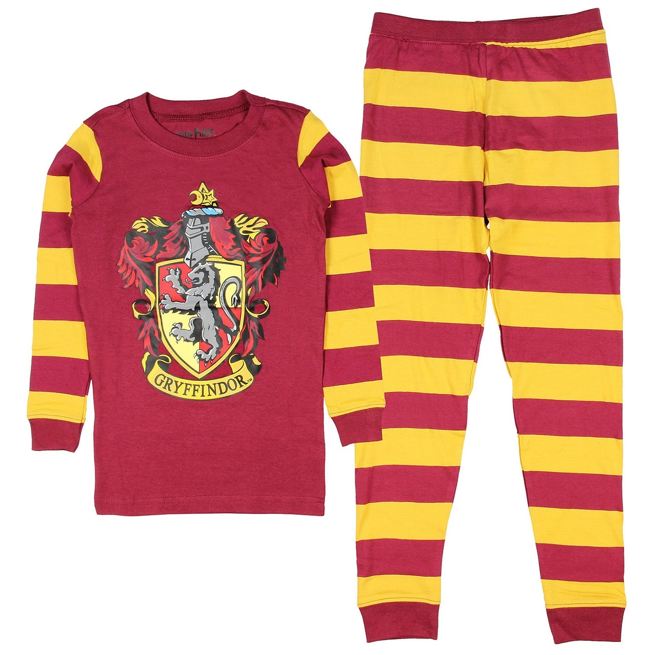 Shop Harry Potter Pajamas Toddlers Kids Boys And Girls House Crest