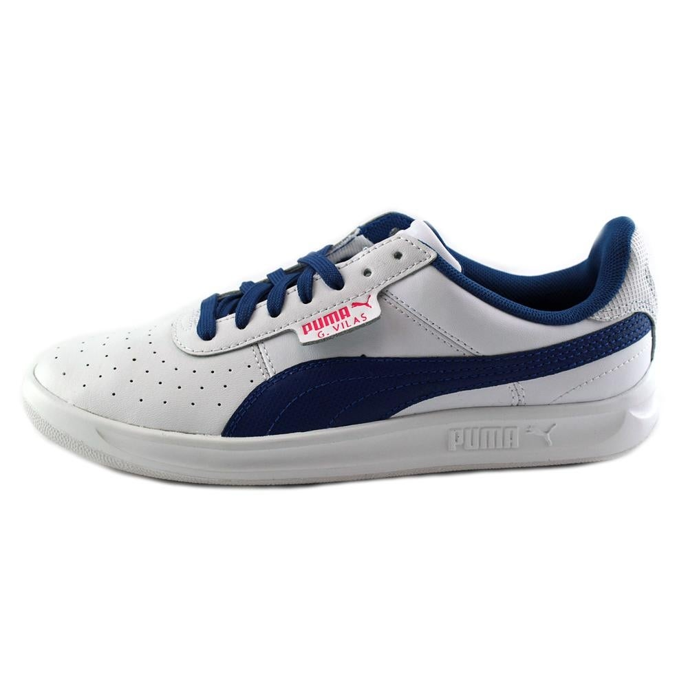 c4933e21df1 Shop Puma G. Vilas 2 Youth Round Toe Leather White Sneakers - Free Shipping  On Orders Over  45 - Overstock - 15293533