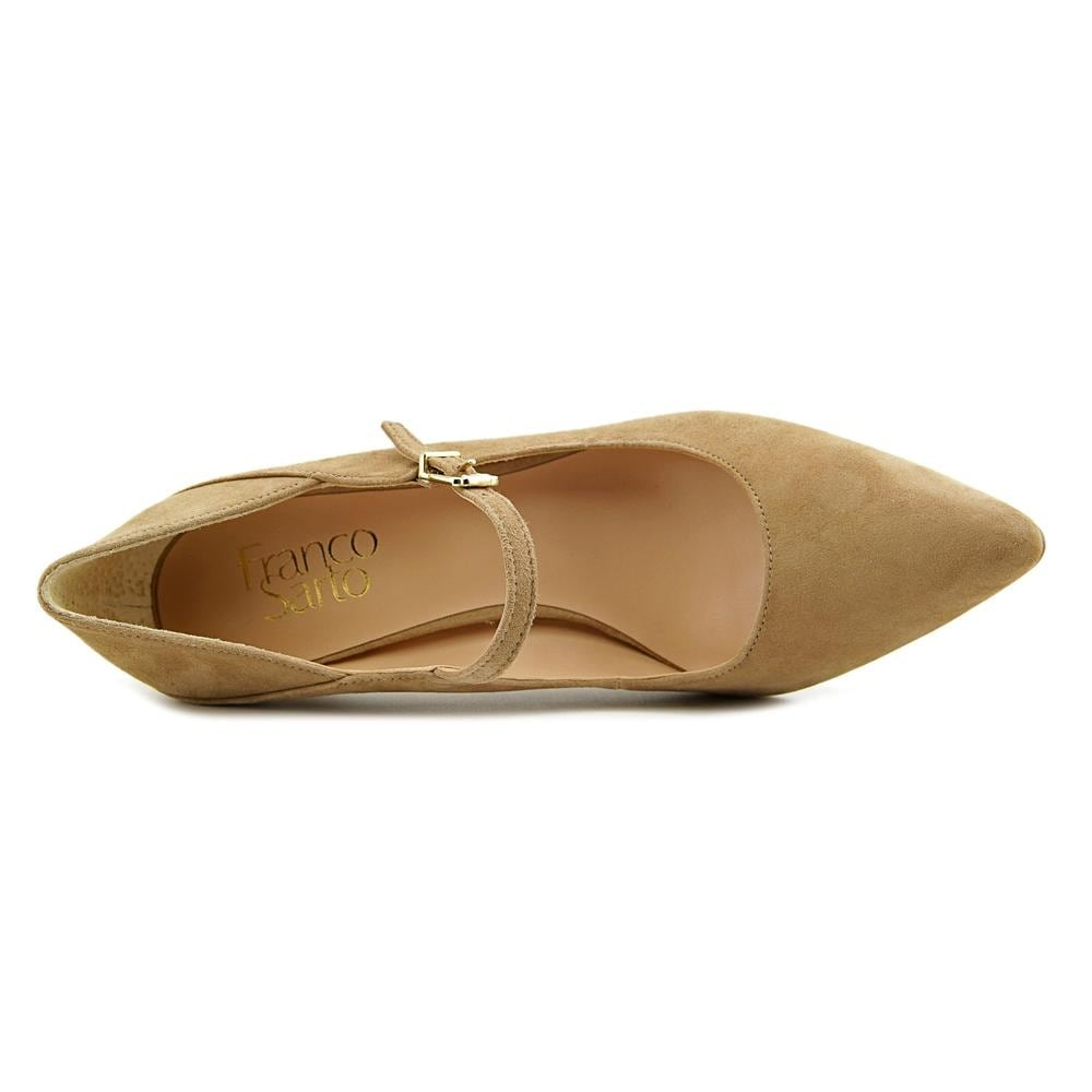 58515a2fcab Shop Franco Sarto Anthem Women Pointed Toe Suede Tan Mary Janes - Free  Shipping On Orders Over  45 - Overstock - 14317632