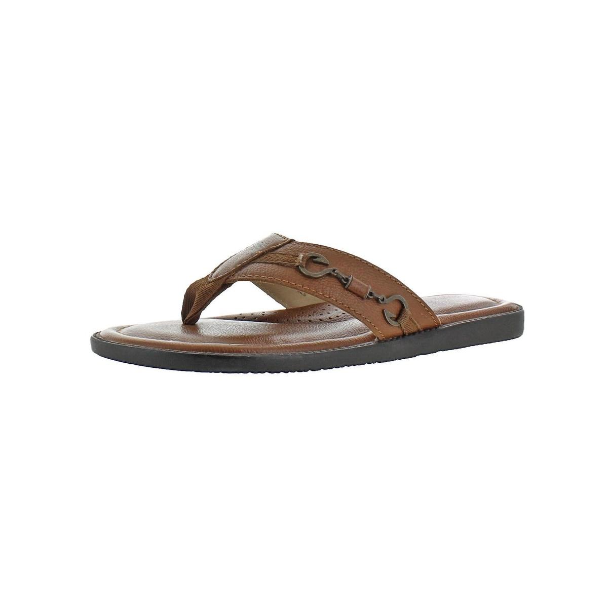 875e78299 Shop Tommy Bahama Mens Belazzio Flip-Flops Summer Thongs - 10 medium ...