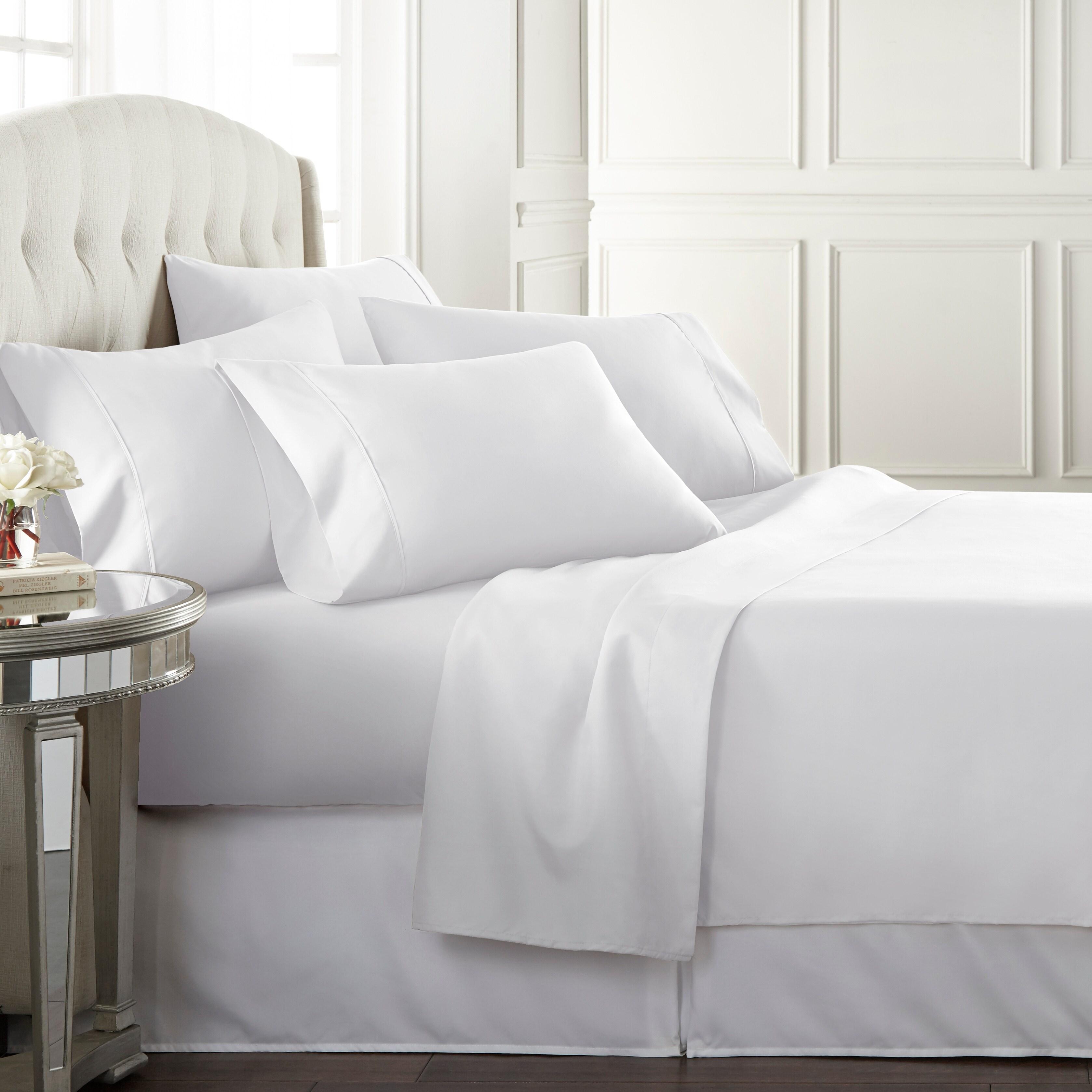 Danjor Linens Luxury Ultra Soft 1800 Series 6 Piece Bed Sheet Set Deep Pocket