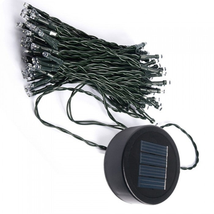 LITEUP50 Solar Clip On String Lights 50 Count Holiday Or Party ...