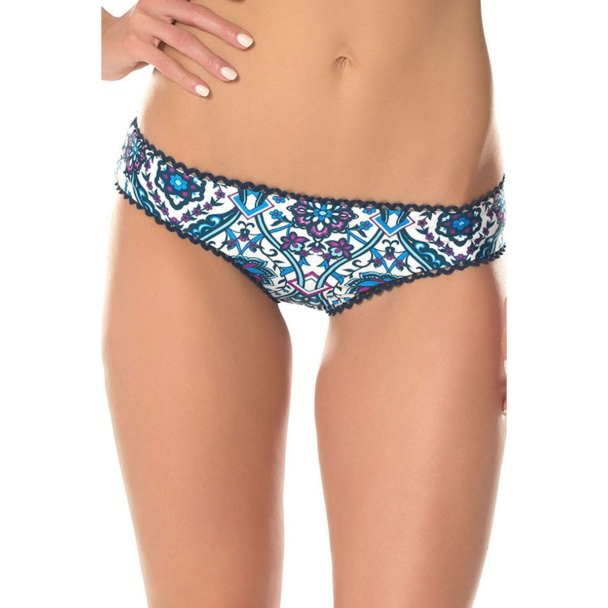 a900988db8c Shop Becca NEW Blue Women's Size Small S Reversible Bikini Bottom Swimwear  - Free Shipping On Orders Over $45 - Overstock - 20232062