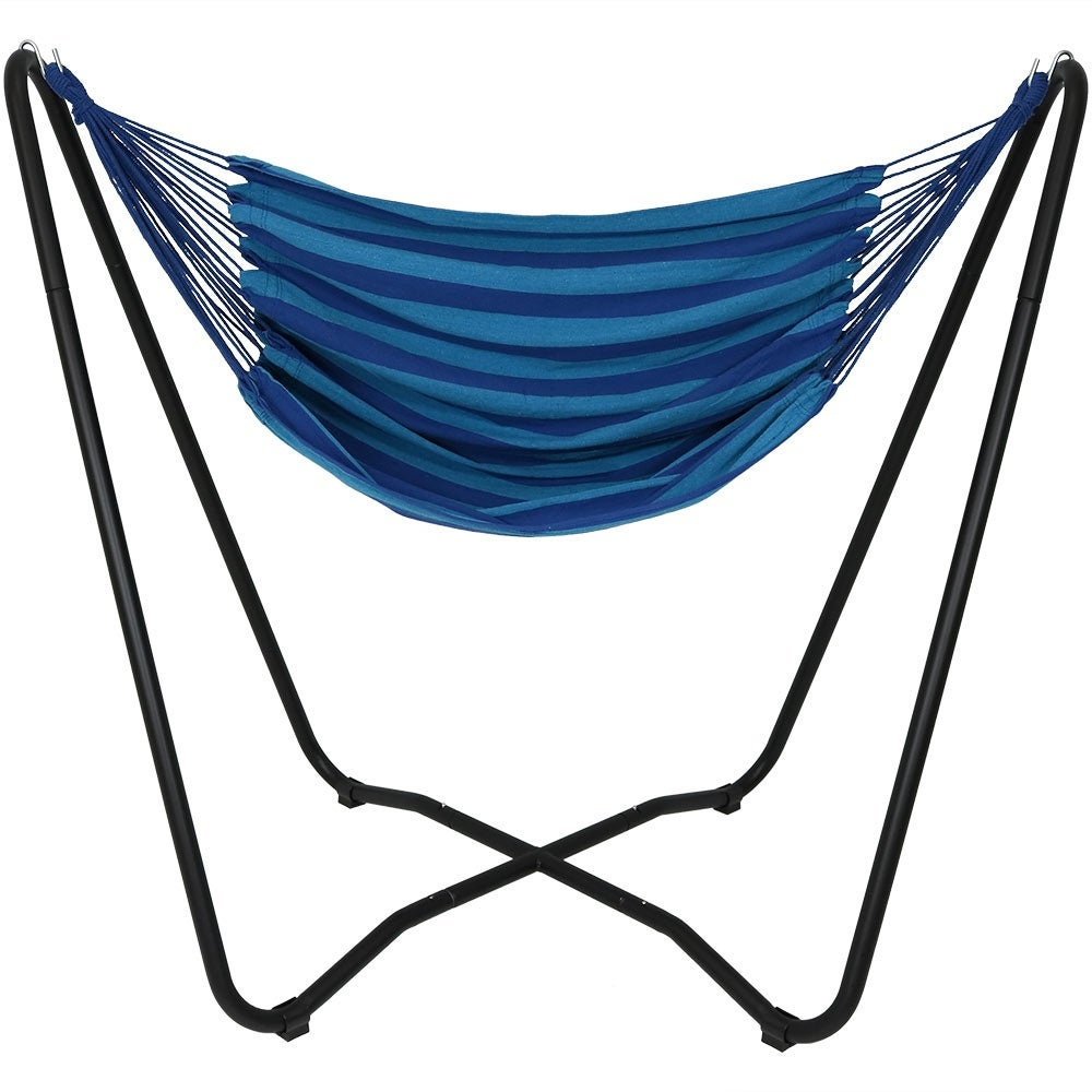 sturdy just stand crossbar rope large wide hammock mini find seat steel the you swing cotton comfy self and outdoor not breezy keeps living pin for open pillows like to a