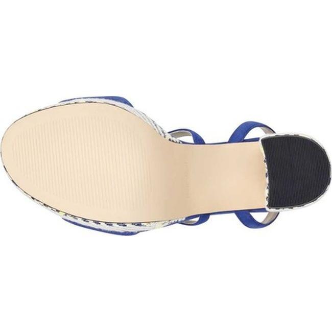 dfb7c4c01cde Shop Nine West Women s Markando Block Heel Platform Sandal Dark Blue Suede  - On Sale - Free Shipping Today - Overstock - 21727668