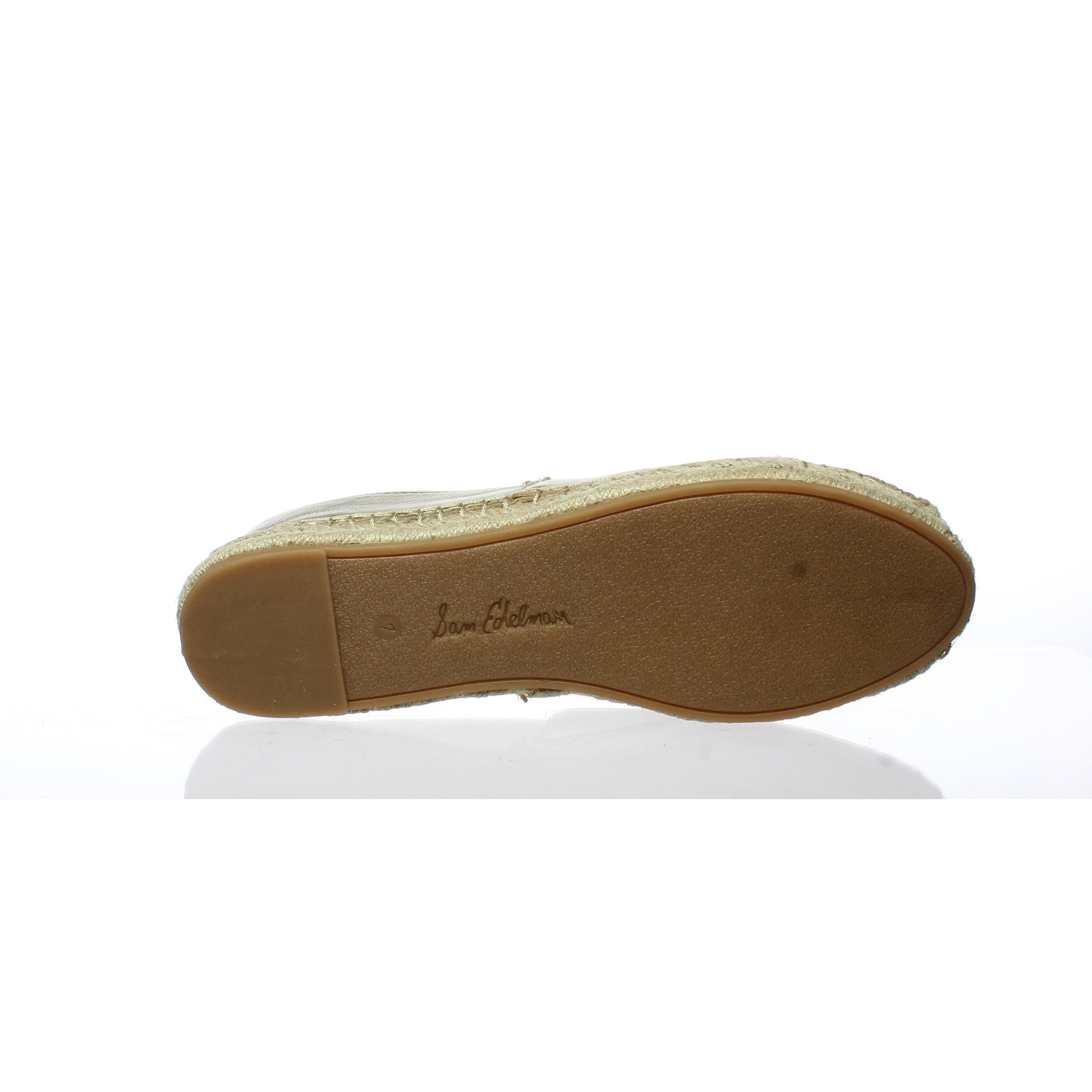 794055e2a Shop Sam Edelman Womens Khloe Gold Espadrilles Size 7 - Free Shipping Today  - Overstock - 27345990