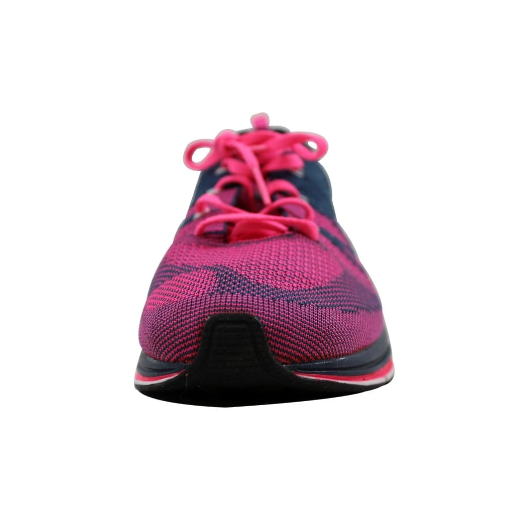 b41cd730649d ... best price shop nike mens flyknit trainer squadron blue white pink  flash532984 416 on sale free