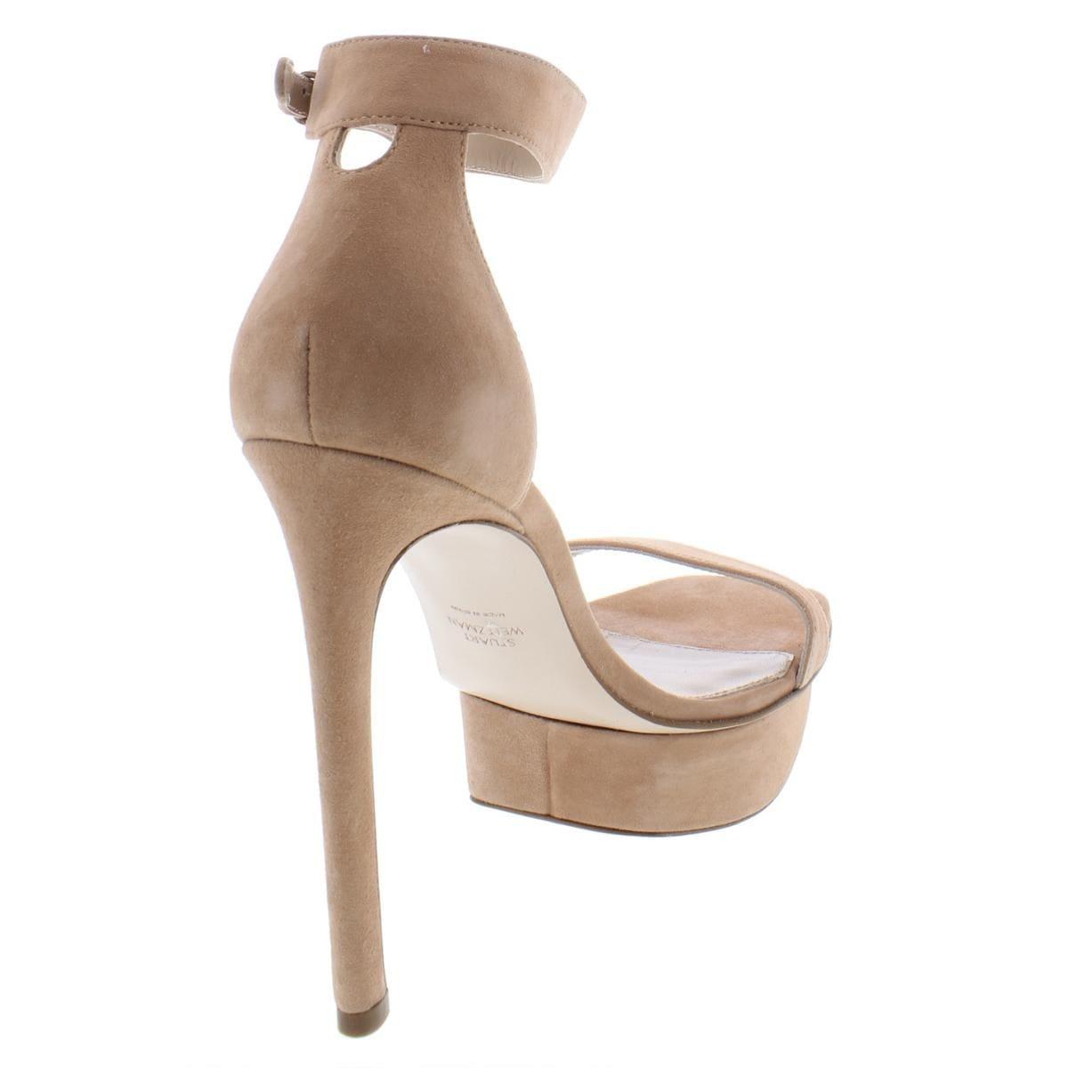 6b4a01087f9 Shop Stuart Weitzman Womens Backupplat Platform Sandals High Platform -  Free Shipping Today - Overstock - 26063561