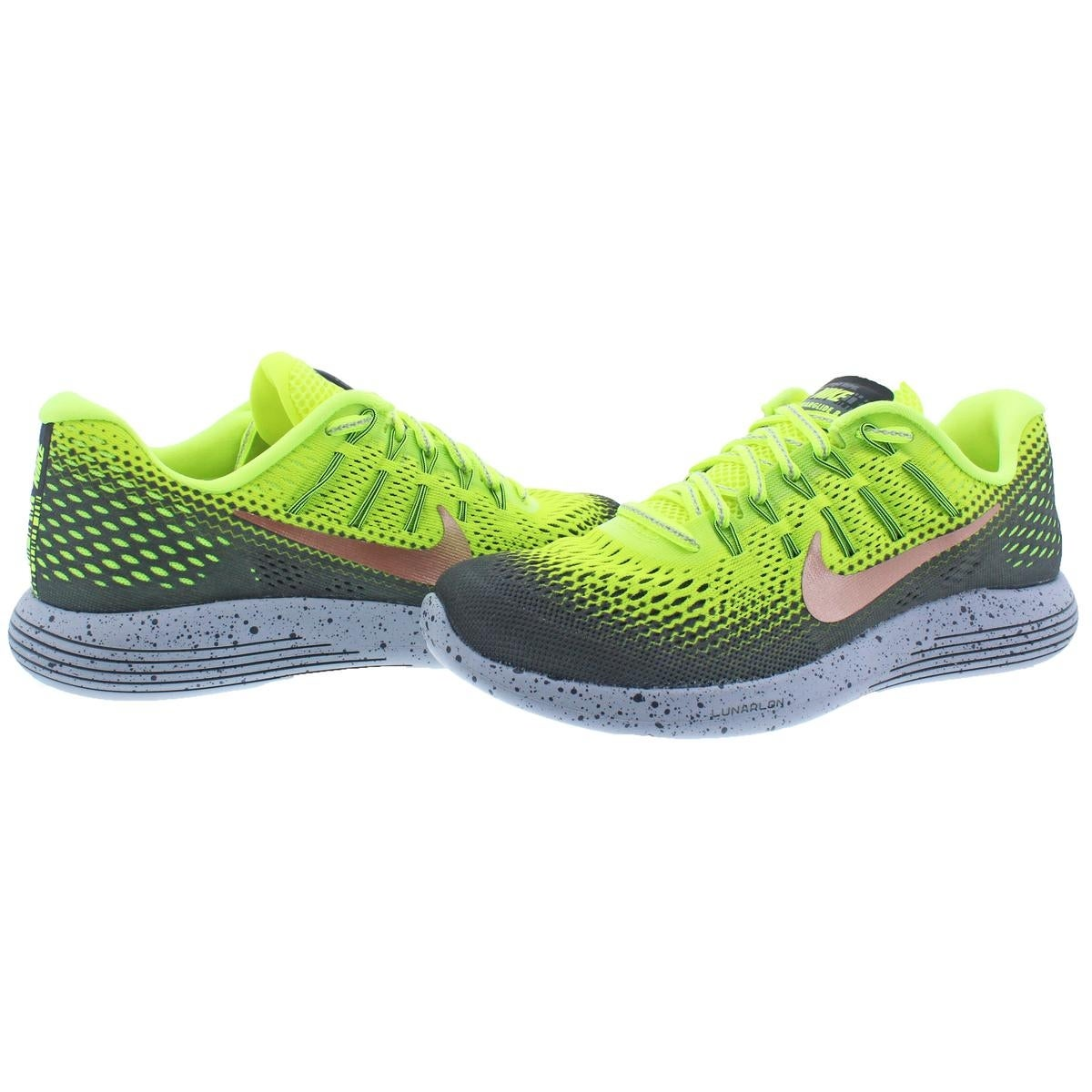92dc8769052e ... low price shop nike mens lunarglide 8 shield running shoes h20 repel  dynamic support 6 medium