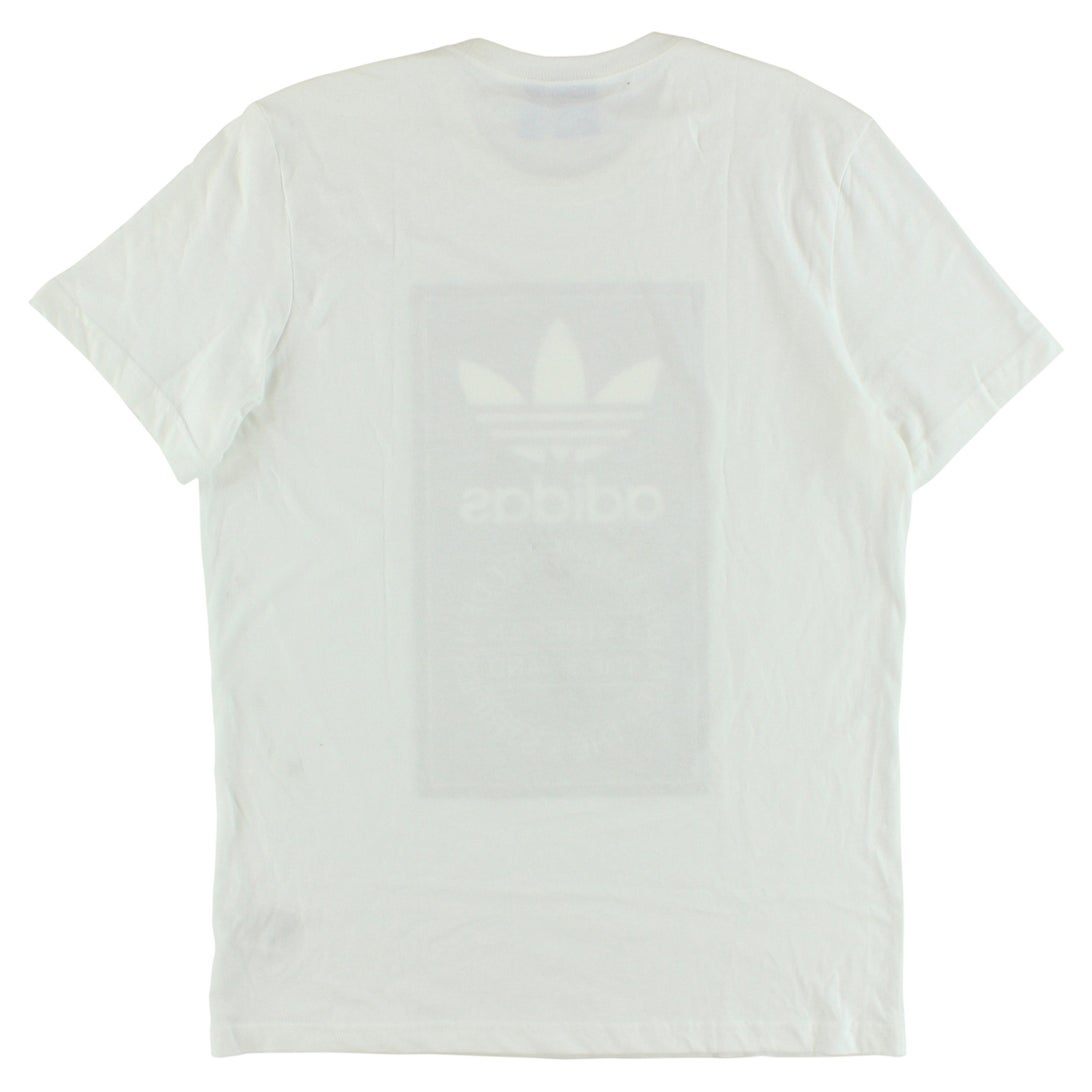 9fc891b60ffc Shop Adidas Mens Originals Camo Tongue Label T Shirt White - WHITE BLACK -  XxL - Free Shipping On Orders Over  45 - Overstock - 22615654