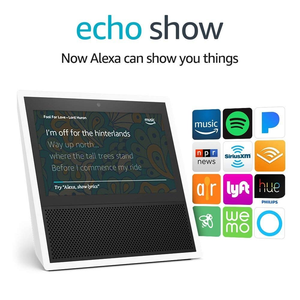 Shop Amazon Echo Show 1st Generation Smart Speaker With Alexa