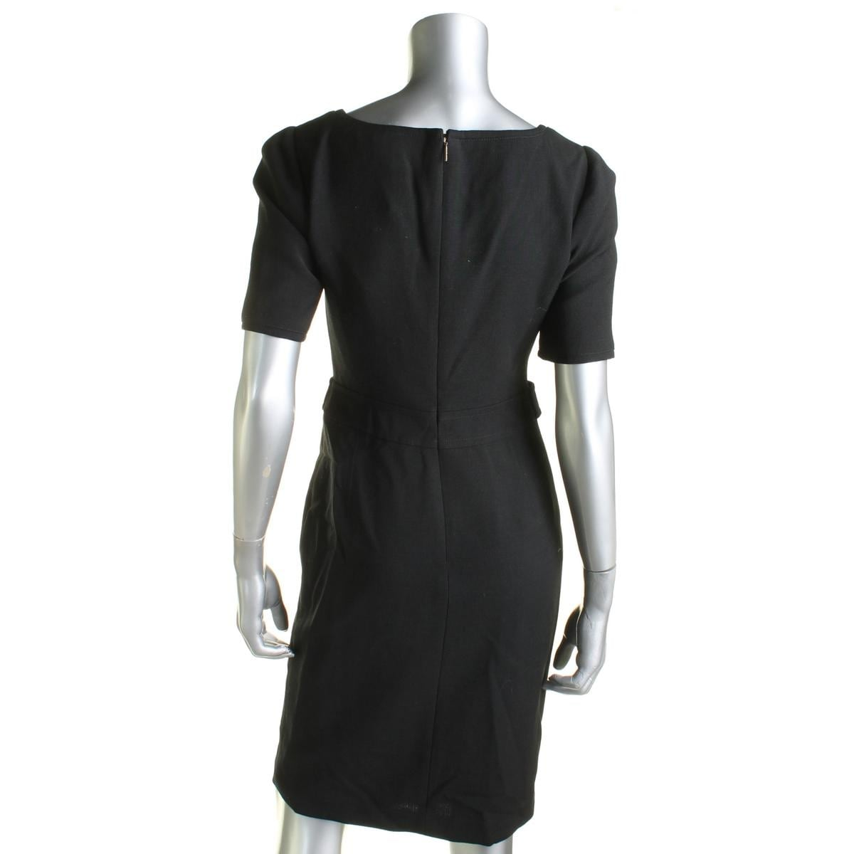912312615f55 Shop Tory Burch Womens Lydia Cocktail Dress Wool Blend Split Neckline -  Free Shipping Today - Overstock - 14050426