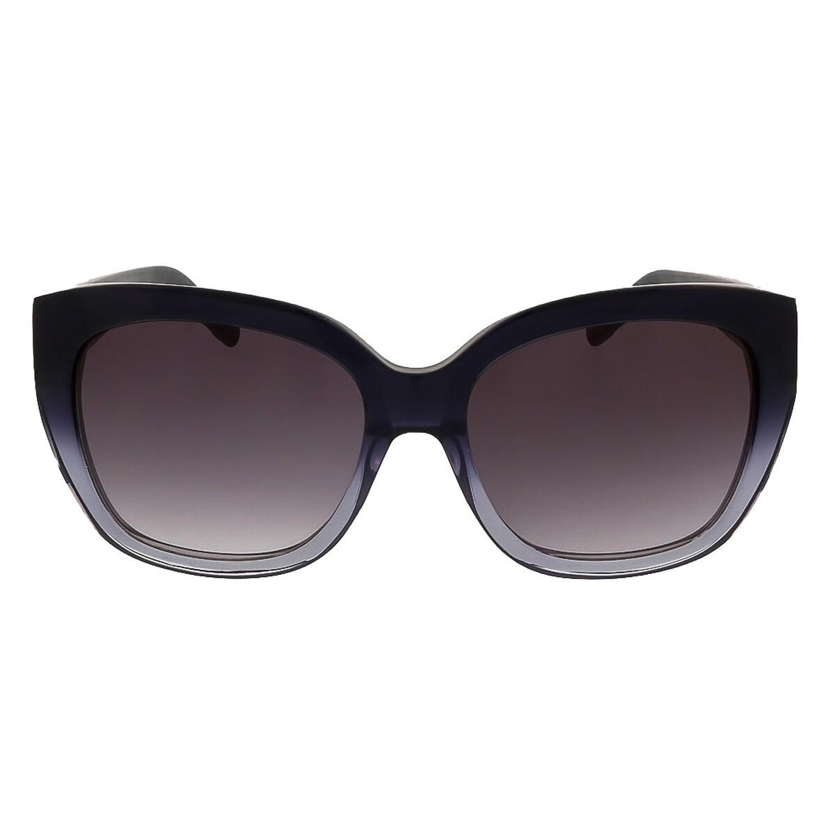 d0ceddde3a Shop Karl Lagerfeld KL866 S 050 Navy Blue Cat Eye Sunglasses - 56-17-135 -  Free Shipping Today - Overstock.com - 15342510