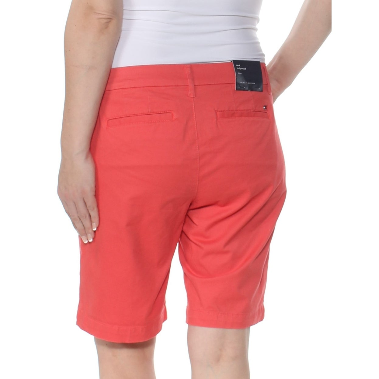 00c37c2e Shop TOMMY HILFIGER Womens Coral Short Size: 14 - Free Shipping On Orders  Over $45 - Overstock - 28253868