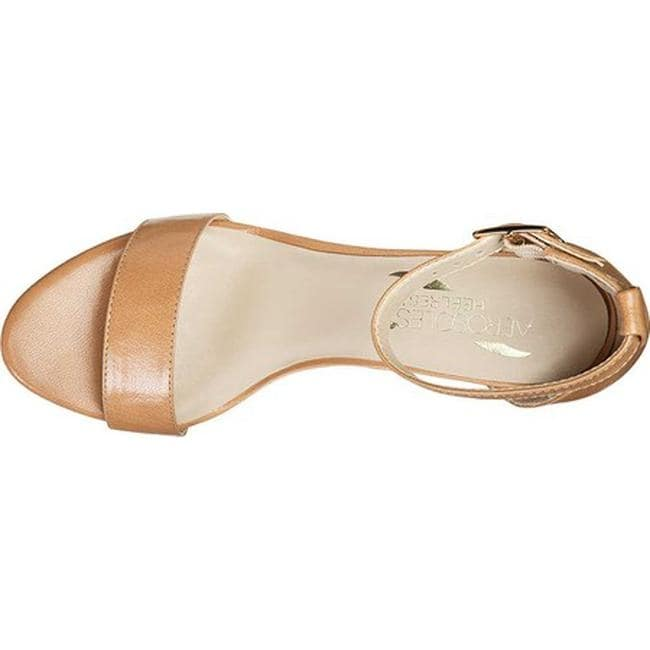 0a191f2d8b8 Shop Aerosoles Women s Bird Of Paradise Ankle Strap Sandal Nude Leather -  On Sale - Free Shipping Today - Overstock - 21691724