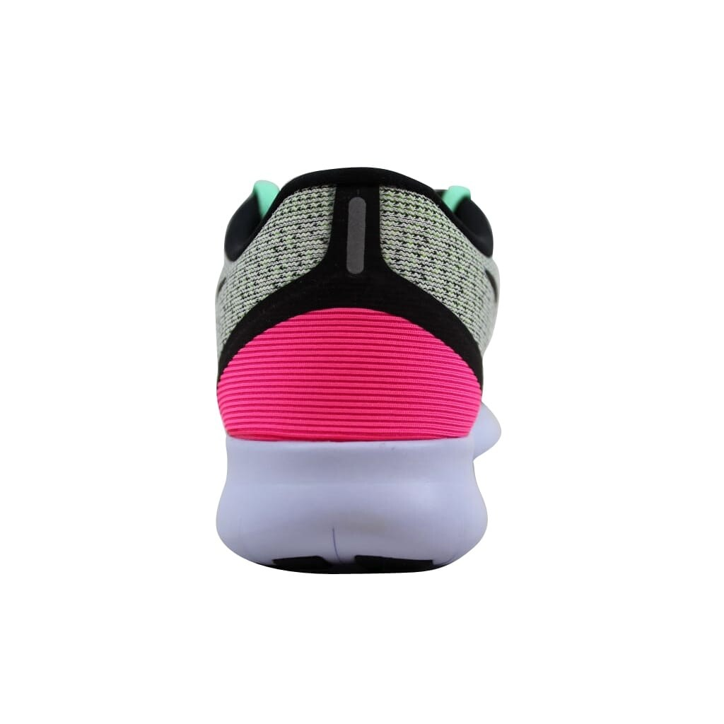 31003608dda1 Shop Nike Women s Free RN White Black-Volt-Pink Blast 831509-103 - Free  Shipping Today - Overstock - 22340257