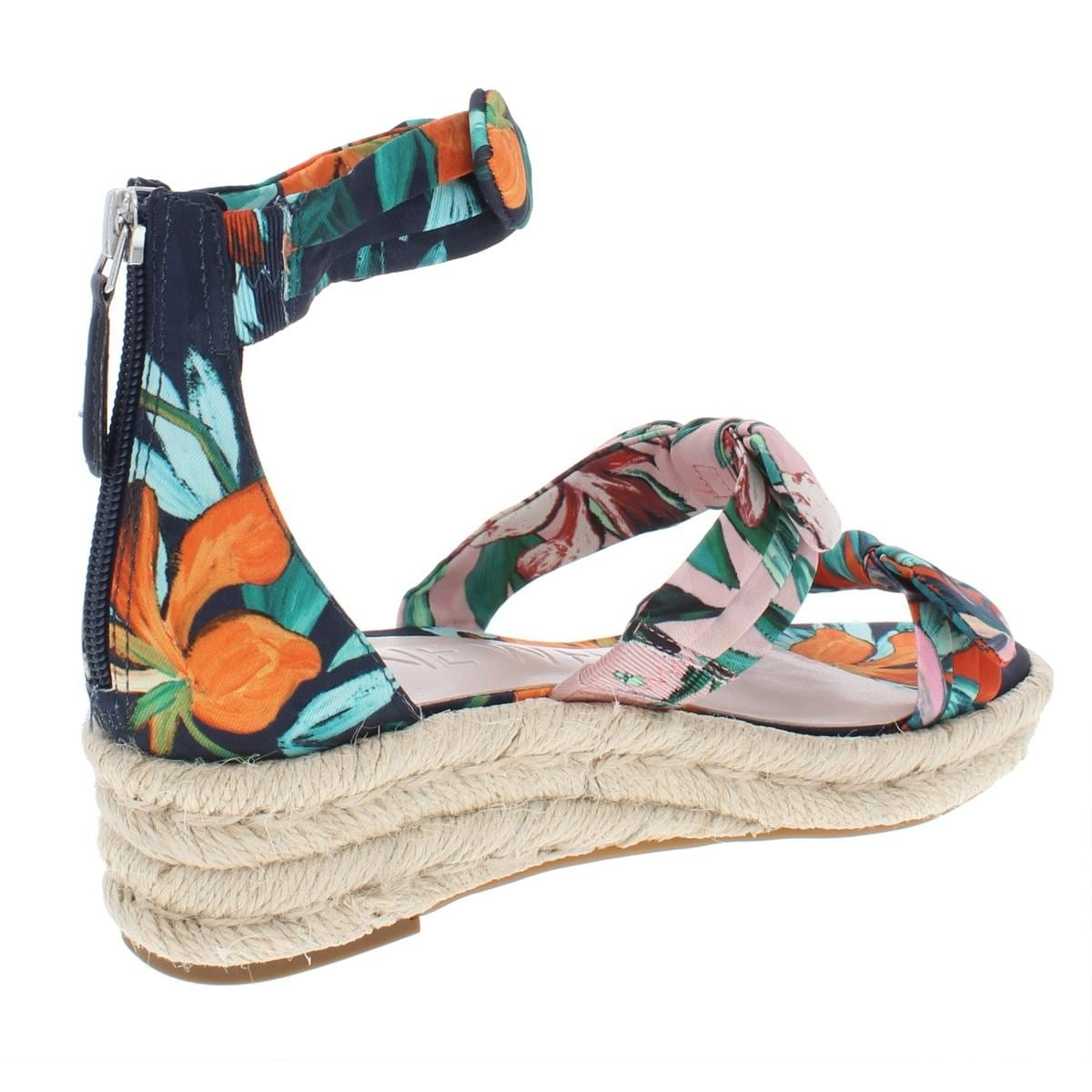 80acd061aee Nine West Womens Allegro Wedge Sandals Man Made