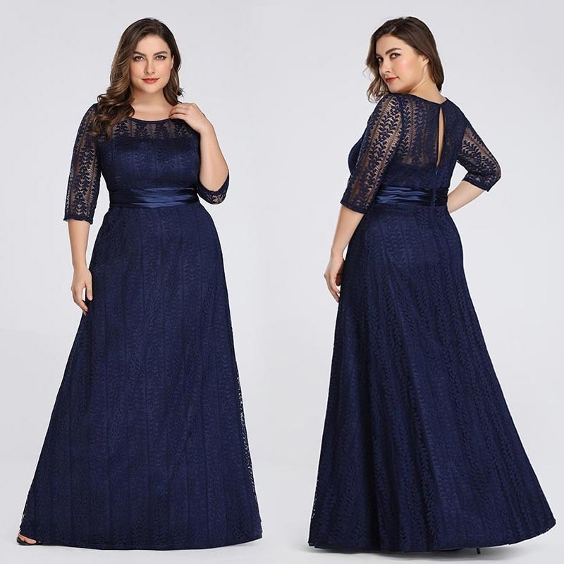 Wedding & Formal Occasion Ever-pretty Us Formal Gowns Lace Women Mother Of Bride Maxi Evening Dress 07624