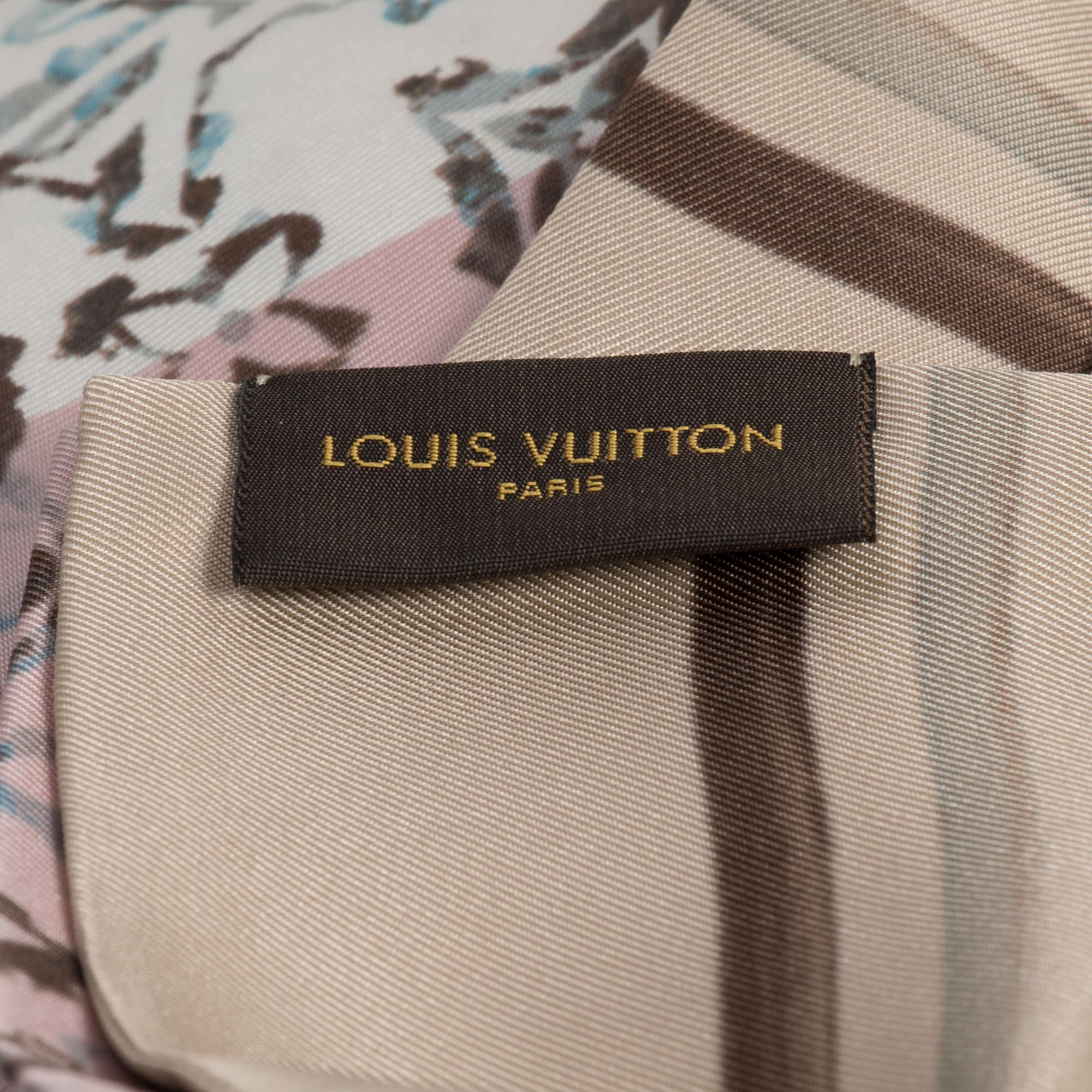 a937a3d28e4c Shop Louis Vuitton Beige Monogram Rainbow Giant Bandeau - Free Shipping  Today - Overstock - 23082911