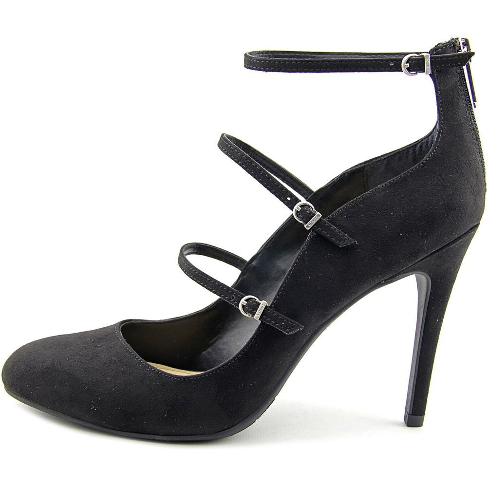 6ae3a66cac9e Shop Circus by Sam Edelman Chrissy Women Round Toe Canvas Black Heels -  Free Shipping On Orders Over  45 - Overstock - 13870186