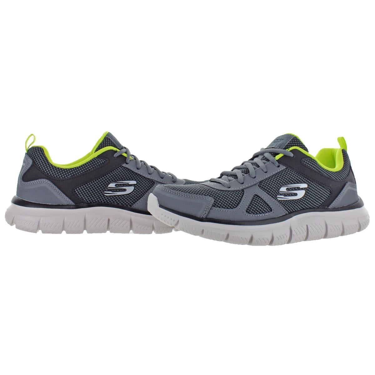 Shop Skechers Mens Track-Bucolo Running Shoes Leather Memory Foam - Free  Shipping On Orders Over  45 - Overstock.com - 27043848 92d0a67f9