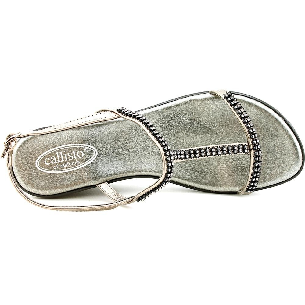 8cb1ec203 Shop Callisto Emma Women Pewter Sandals - Free Shipping On Orders Over  45  - Overstock - 14991524