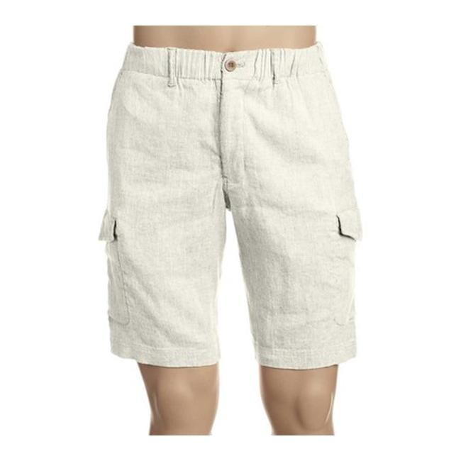 6df168d01a Shop Tommy Bahama Men's Beach Linen Cargo Short Continental - Free Shipping  Today - Overstock - 20443759