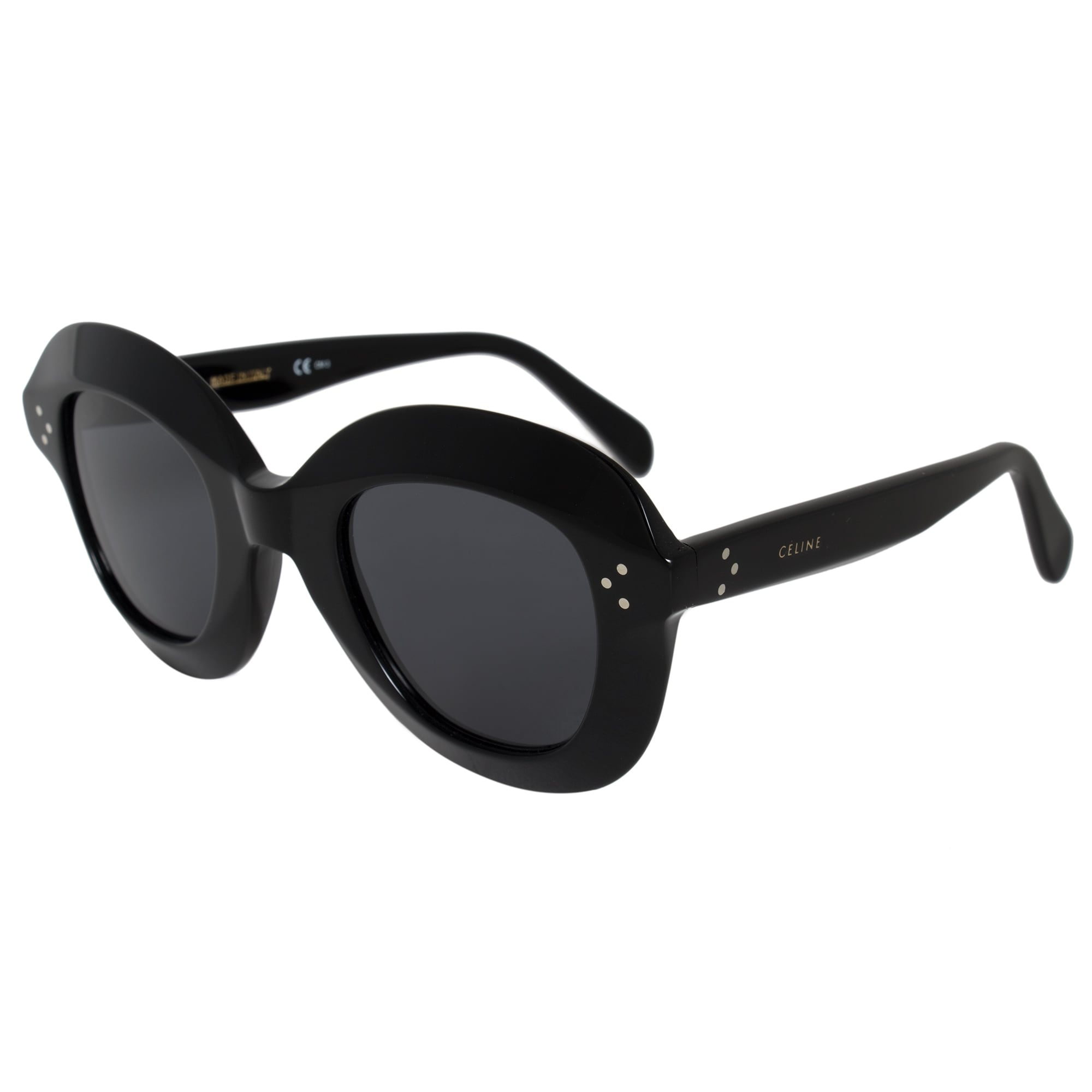 a634c63f2cb Shop Celine Lola Round Sunglasses 41445S 807 IR 46 - On Sale - Free  Shipping Today - Overstock - 19622825
