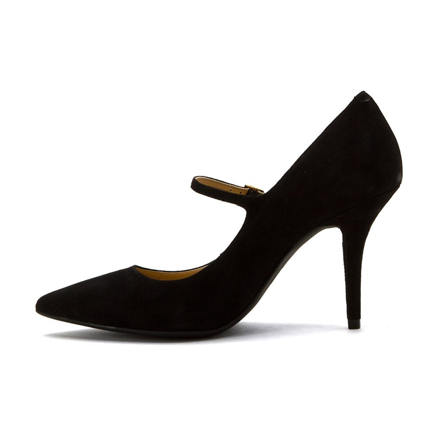 843e61b0f86 Shop MICHAEL Michael Kors Womens Claire Flex Mary Jane Suede Pointed Toe  Ankle Str... - Free Shipping Today - Overstock - 19840679