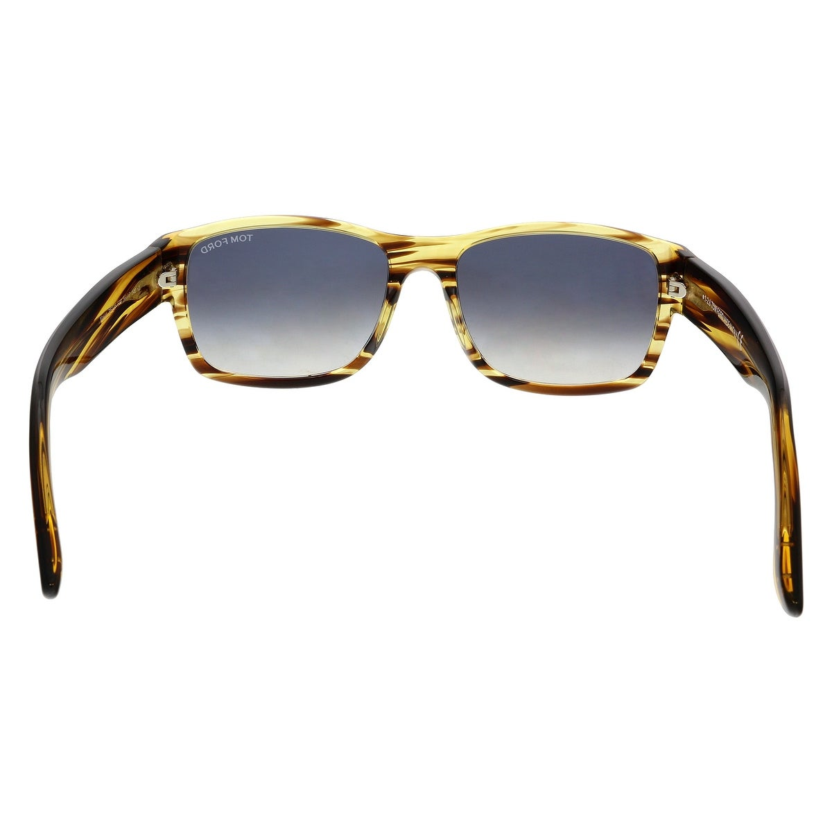 Shop Tom Ford FT0445 50B Mason Striped Brown Rectangular Sunglasses - No  Size - Free Shipping Today - Overstock.com - 25483896 1b50ad858004a
