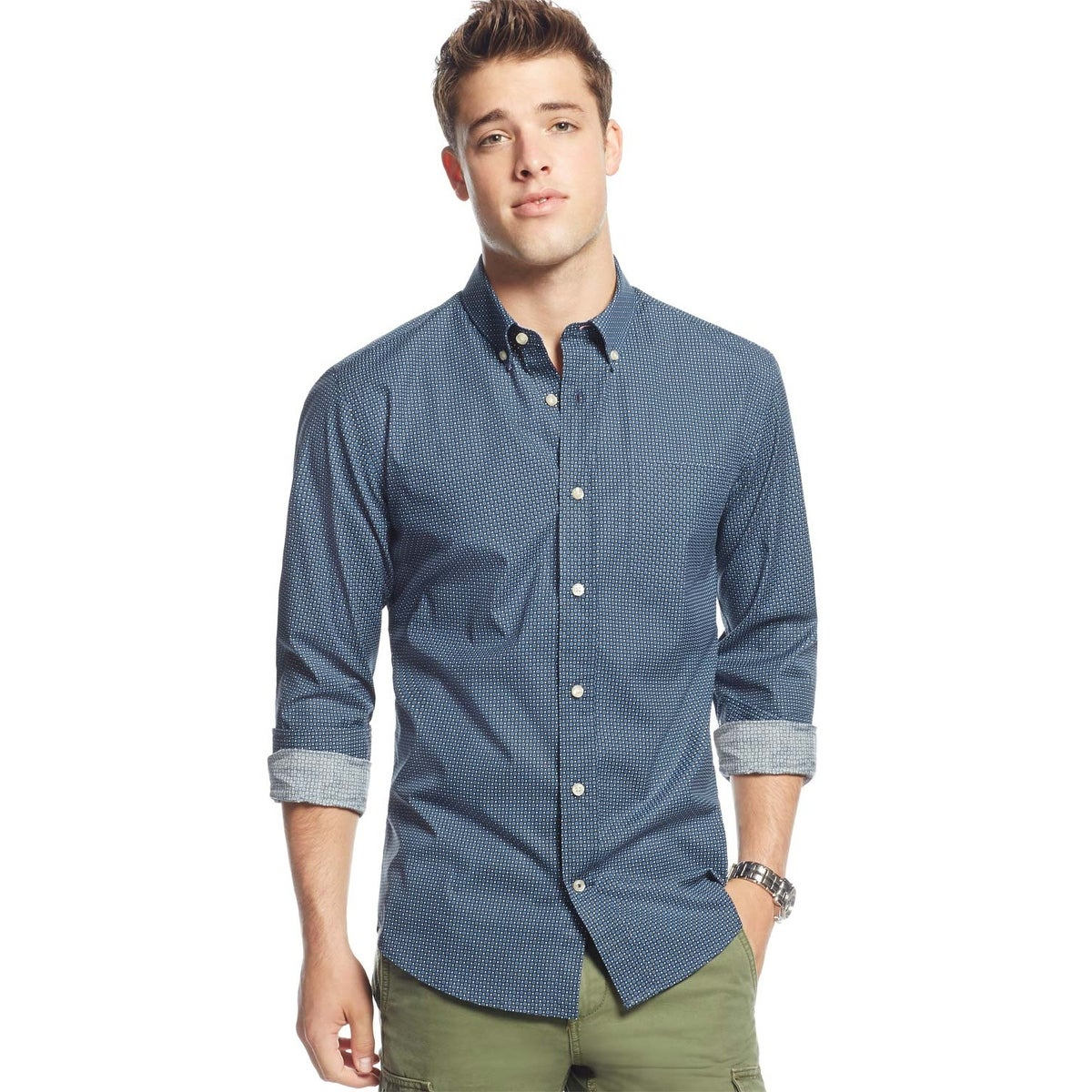 efba609d Custom Fit Button Down Shirts – EDGE Engineering and Consulting Limited