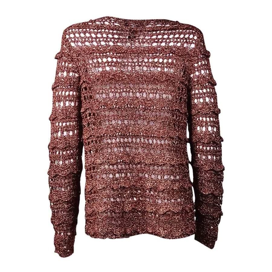 Shop Alfani Womens Crochet Open Stitch Cardigan Sweater On Sale