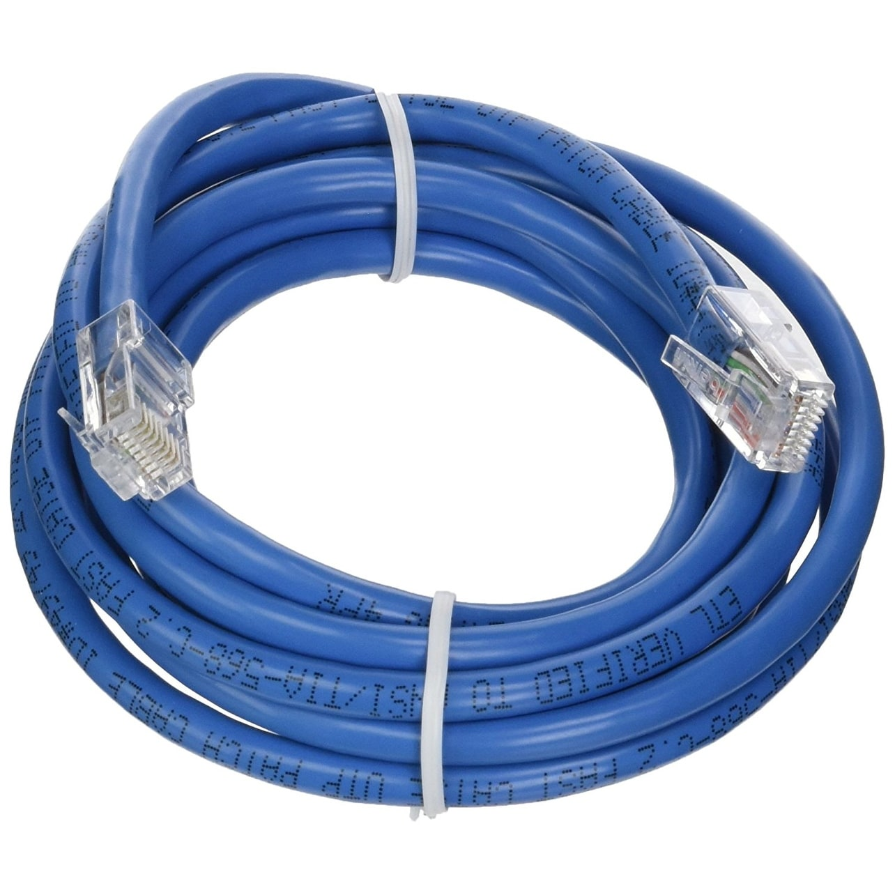 Shop Belkin A3l781 07 Blu 7 Cat5e Snagless Patch Cable Blue Cat 5e Bootless Cables Black Ethernet 6 Free Shipping On Orders Over 45 20524877