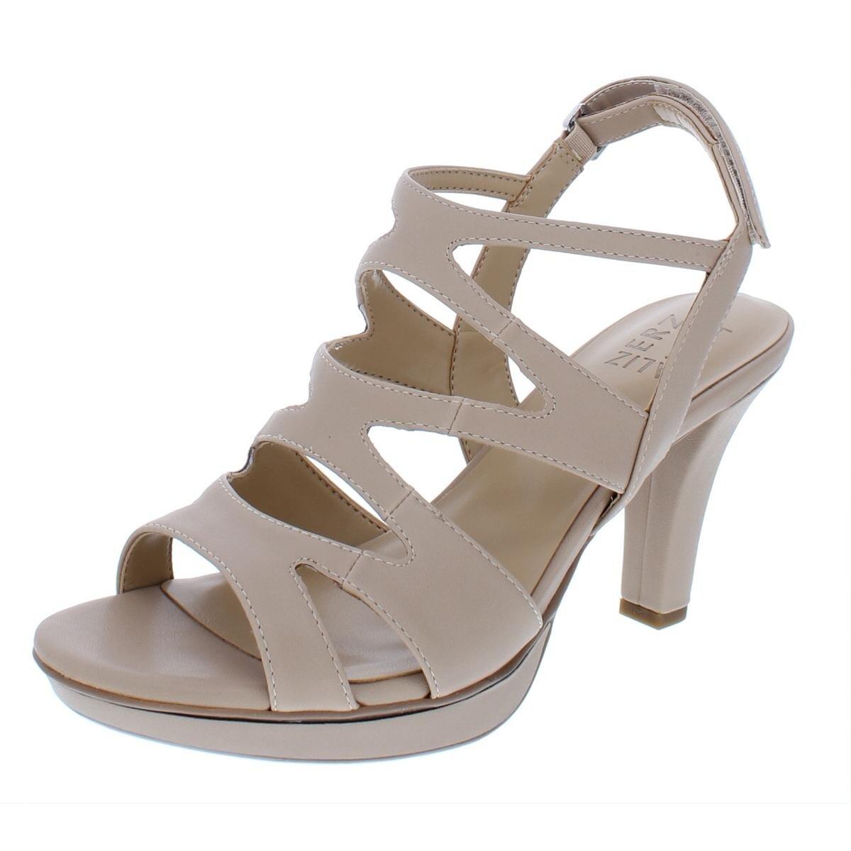 11904868789e35 Shop Naturalizer Womens Dianna Slingback Sandals Faux Leather Caged ...
